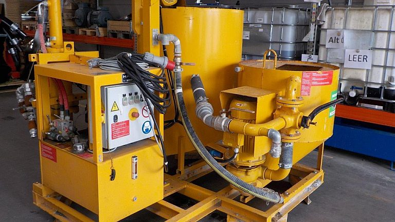 Microtunneling bentonite dosing plant Häny IC1100 Down2earth 2