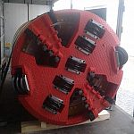Microtunneling mixed cutting wheel AVN1200 T extension kit