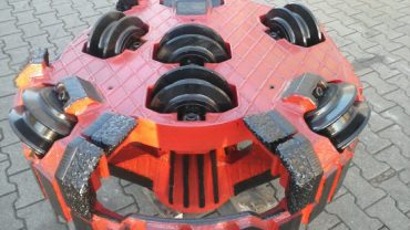 Microtunneling rock cutting wheel AVN800 Herrenknecht Down2earth