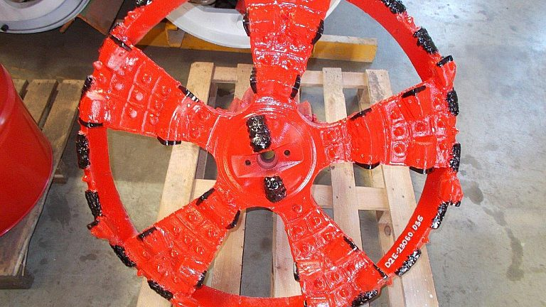 Microtunneling standard cutting wheel AVN700 Herrenknecht Down2earth