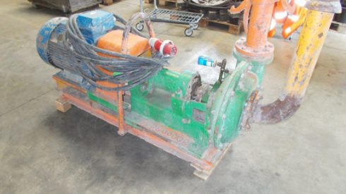 Microtunneling slurrypump RPL54 Habermann Down2earth 1