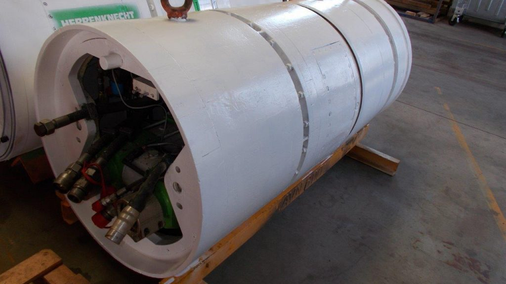 Microtunneling AVN700 Herrenknecht Down2earth 3