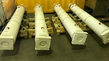Microtunneling main jacking cylinders 4 meter stroke Herrenknecht Down2earth 1